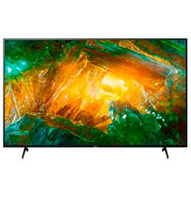 Android TV 4K 85 Sony XBR-85X805H com Muito Mais Cores, Recomendada Pela Netflix e Inteligência Artificial