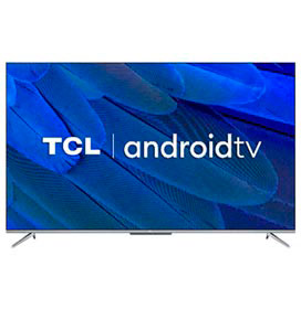 Smart TV TCL LED Ultra HD 4K 55 Android TV com Google Assistant, Borda Ultrafina e Wi-Fi - 55P715