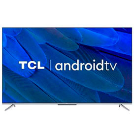 Smart TV TCL LED Ultra HD 4K 65 Android TV com Google Assistant, Borda Ultrafina e Wi-Fi - 65P715