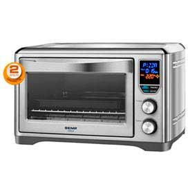 Forno Elétrico de Mesa Semp para Assar, Grelhar, Aquecer, Pizza, Toast e Bagel com Capacidade de 21 Litros - FO9018PT1