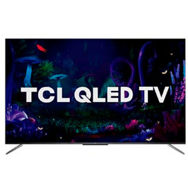 Smart TV TCL QLED Ultra HD 4K 65? Android TV com Google Assistant, Design sem Bordas e Wi-Fi- QL65C715