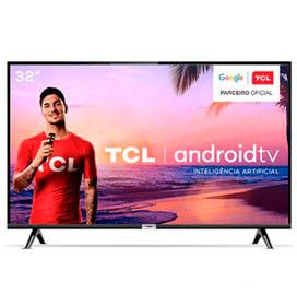 Smart TV TCL LED HD 32 com HDR, Modo Cinema, Google Assistant e Wi-Fi - 32S6500
