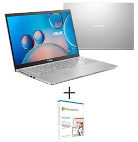 Notebook Asus, Intel Core i5 1035G1, 8GB, 256GB, 15,6, NVIDIA MX130, Cinza - X515JF-EJ153T + Microsoft 365 Personal