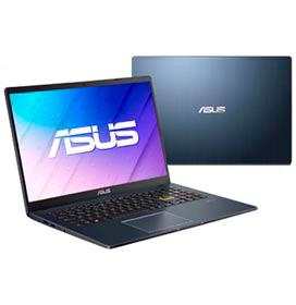 Notebook Asus,Intel® Celeron®N4020 Dual Core, 4GB,128GB eMMC,Tela 15,6,Intel UHD600,Windows 10 Pro,Black- E510MA-BR295R