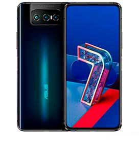 Zenfone 7 Preto Asus, com Tela de 6,67,5G, 128GB e Câmera Tripla de 64MP + 12MP + 8MP - ZS670KS
