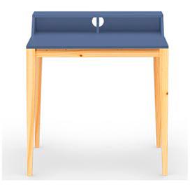 Escrivaninha Pine com Gaveta 80 cm Azul Petróleo Veromobili - 170992