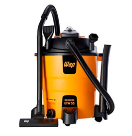 Aspirador de Pó e Água Vertical WAP GTW 55 3 em 1 com Capacidade de 55 Litros com Soprador - GTW55