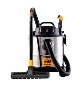 Aspirador de Pó e Água WAP GTX Inox 20 com Capacidade de 20 Litros com Saco para Pó - GTWINOX20