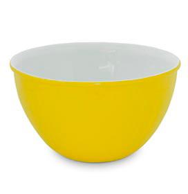 Cumbuca em Cerâmica com 1,5 Litros de Capacidade Amarela - Mondoceram Gourmet