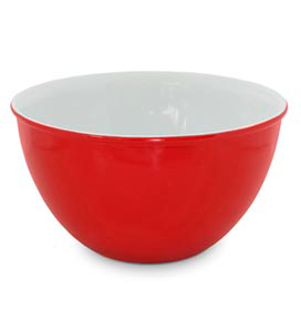 Cumbuca em Cerâmica com 1,5 Litros de Capacidade Vermelha - Mondoceram Gourmet