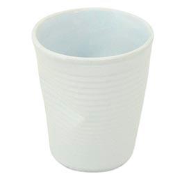 Copo Plastic em Cerâmica 70ml Branco - Mondoceram Gourmet