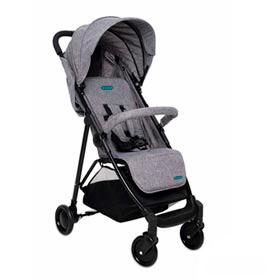 Carrinho de Bebê Berço Cinza - Bebeliê - CBB-02