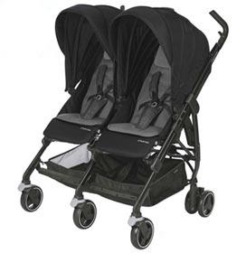 Carrinho de Bebê Dana For2 Preto - Maxi-Cosi