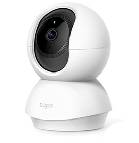 Câmera de Monitoramento Wi-Fi Tapo C200 Panorâmica 1080P - TP-Link