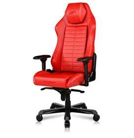 Cadeira Master DM1000 Max Giratória e Reclinável Vermelha - DXRacer