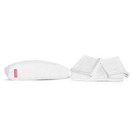 Travesseiro Modular Zissou + Jogo de Lencol 100% Bambu Zissou Casal