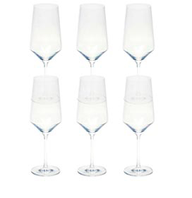 Conjunto de Taças Bordeaux Pure em Cristal Alemão de Titânio 680 ml com 06 Peças - Schott Zwiesel